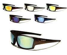 New X Loop Mirror Sport Sunglasses Plastic Frame Golf Baseball Fishing Men Women