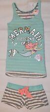 PRIMARK Disney Little Mermaid Ariel Vest & Shorts Set PJ PYJAMAS Size 4 - 20 NEW
