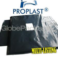 "GRIGIO ""pro-plast"" marchio forte POLY POSTALE AFFRANCATURA mailing BAGS-Tutte le Taglie / quantità"