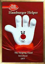 MAGNET  Fridge  Hamburger Helper Helping Hand