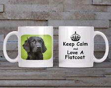 Flatcoat Mug, Keyring, Coaster - Dog Breed, Christmas/Birthday Gift