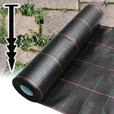 Heavy Duty Weed Control Mulch Landscape Fabric Pegs 10M Cuts