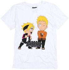 Boruto Naruto The Movie Chibi Characters Adult T-Shirt - Action, Adventure Movie