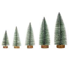 Simulation Mini Christmas Tree Ornament Home Xmas New Year Desktop Decor F07#