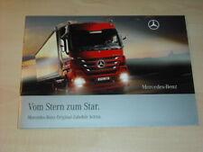 34927) Mercedes Actros Zubehör Prospekt 2008