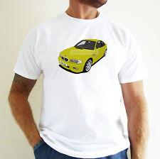 BMW M3 (E46) CAR ART T-SHIRT. PERSONALISE IT!