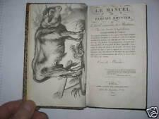 1822 : Manuel du bouvier ou l'Art de connaître les best