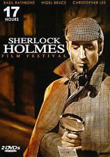 New/Sealed Sherlock Holmes Film Festival (DVD, 2009, 2-Disc Set)