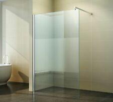 Walk-In Duschabtrennung Duschwand Seitenwand 40-160 cm Teilsatiniert NANO Neptun