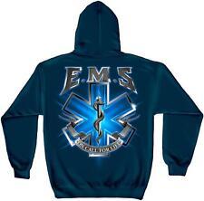 Erazor Bits Sweatshirt Hoodie- Emergency Medical Service - EMS On Call For Life