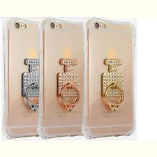 Smart Cell Phone Perfume Bottle Holder Round 360° Ring Stand Finger Bracket Cool