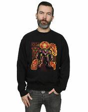 Avengers Hombre Infinity War Hulkbuster Blueprint Camisa De Entrenamiento