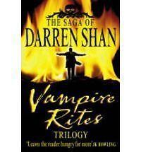 The Saga of Darren Shan - Vampire Rites Trilogy, Darren Shan | Paperback Book |