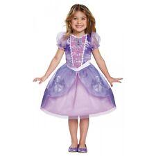 Sofia the First Costume Toddler Kids Disney Princess Halloween Fancy Dress