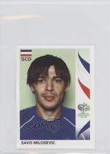 2006 Panini World Cup Album Stickers #224 Savo Milosevic Croatia Soccer Card