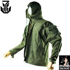 Tactical Wind Coat Jacket W/Cordura Nylon Soft Shell Zipper night sand Coat