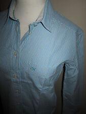 JACK WILLS Marsland Aqua Stripe Shirt Free UK P&P Szs 8