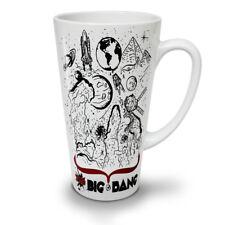 El Big Bang Theory Nuevo Blanco Té Café Taza de café con leche 12 17 OZ (approx. 481.93 g) | wellcoda