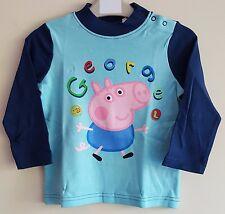 "PEPPA Pig ""George con Dinosauro"" Ragazzi / Bambini T-Shirt"