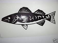 Fisch Aufkleber Sticker Angeln Angelsport m19