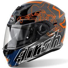 AIROH STORM bionikle orange brillant Casque motocycle moto + Pinlock
