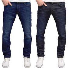 Wrangler Mens Designer Greensboro Regular Fit Straight Leg Denim Jeans BNWT