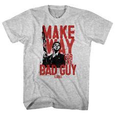 Scarface Tony Montana Gun Make Way for the Bad Guy Men's T Shirt Pacino Gangster