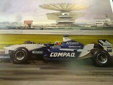 Litho 1971 Spanish GP Tyrrell Ford #11 Jackie Stewart door Michael Turner