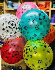 "FOOTBALL THEME Boys Birthday Party Decorations 12"" Latex BALLOONS Soccer Ball"