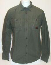 Mexx Men's Shirt Long Sleeve Business Leisure Shirt Kent Collar Olive S M L New