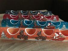 Teelichthalter Röhre aus Glas,Deko,Handarbeit,Weihnachten,Advent,Santa,Nikolaus