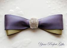 ARCH Rhinestone Crystal Wedding Sash Belt Buckle Slider BK093