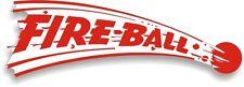 Vintage Fire Ball FireBall Trailer RV sticker decal