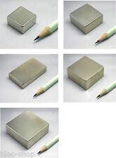 Neodimio-Super imanes gran prisma rectangular-dif. variedades de hasta 100 kg de tracción