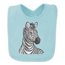 Zebra Face Baby Bib