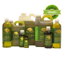 Premium UNREFINED Hemp Seed Oil Pure & Organic Fresh Best Quality Skin Care Face