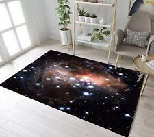 Area Rug Starry Sky Galaxy Flicker Rectangle Floor Mat Carpet Crawling Mat Rug
