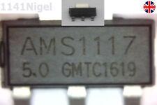 AMS1117 LM1117 5V - 1A Voltage Regulators LDO SOT-223 UK  ...