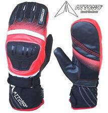 Skihandschuhe Fäustlinge Leder Handschuhe Snowboard Ski Handschuhe Attono