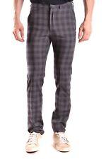 Gazzarrini Men's Mcbi132010o Grey Wool Pants