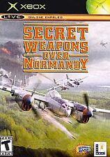 Secret Weapons Over Normandy (Microsoft Xbox, 2003, NTSC)