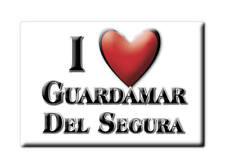 SOUVENIR ESPAÑA COMUNITAT VALENCIANA MAGNET GUARDAMAR DEL SEGURA (ALICANTE)