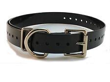 "SPORT DOG Compatible REPLACEMENT 1"" COLLAR STRAP Black or Dark Blue"
