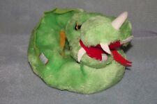 Dakin Green Dragon Snake Plush Toy Doll 1979 Vintage RARE!