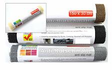 (2,75€/1qm) Antirutschmatte Antirutschunterlage 4 Rollen mit 30x150cm Farbwahl
