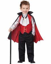 CK534 Dapper Vampire Toddler Boys Dracula Twilight Halloween Fancy Dress Costume