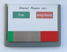 Glasschild Toskana Türschild Wegweiser Büroschild Namenschild Frei//Besetzt