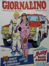 Il Giornalino n°21 1987 Pinky Jacopo del mare