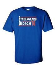 "Noah Syndergaard Jacob Degrom New York Mets ""2016"" jersey T-shirt  S-5XL"