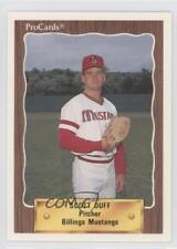 1990 ProCards Minor League #3213 Scott Duff Billings Mustangs Baseball Card